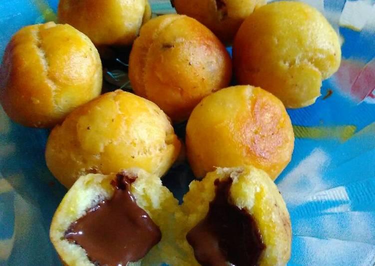 Resep Roti goreng unyill coklat lumer oleh asyraf Resep Roti goreng unyill coklat lumer - asyrafs mom