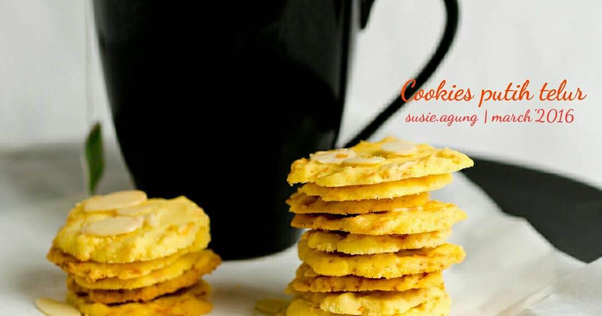 Resep Cookies putih telur