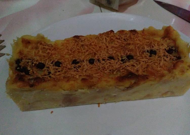 Resep Puding Roti tawar Panggang Dari GraciaIndri