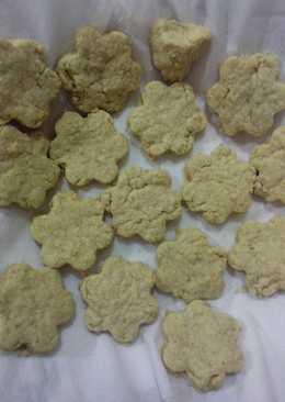 Cheesy oat cookies (mpasi 11+)