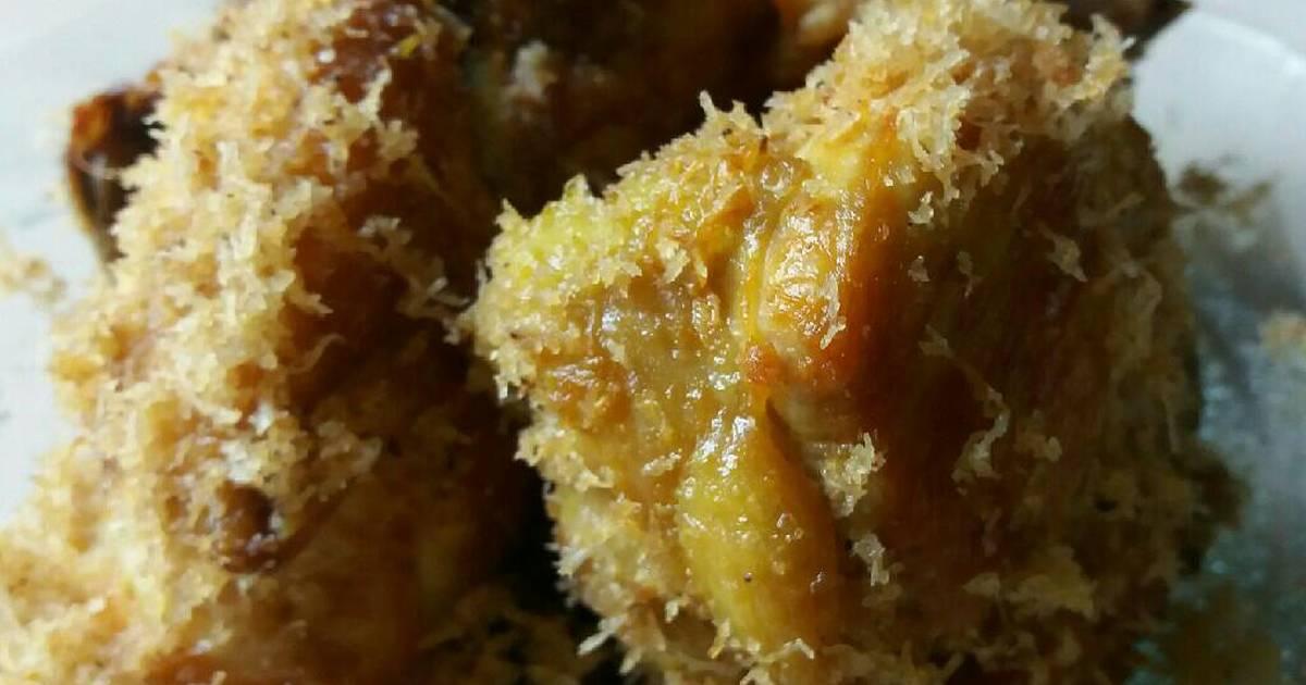 resep ayam serundeng oleh bunda adnan   cookpad