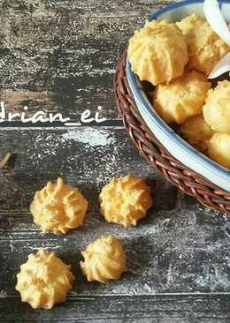 Soes Kering Keju (Cheese Chrispy Choux)