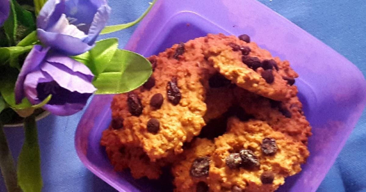 Resep Vegan Oat (+ Almond) Cookies with Happycall