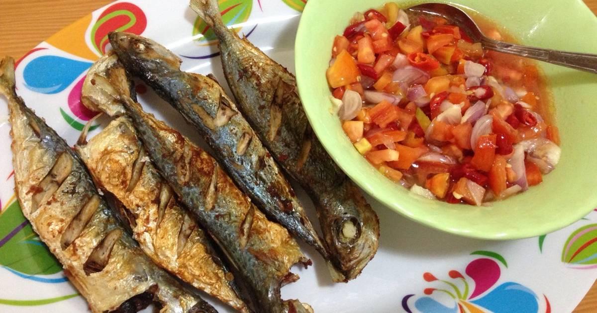 terbaru gambar ikan nila goreng Resepi Ikan Bakar Sambal Dabu Dabu Enak dan Mudah