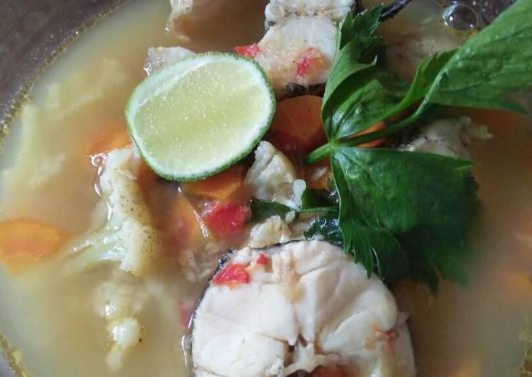 Soup ikan betutu/gabus