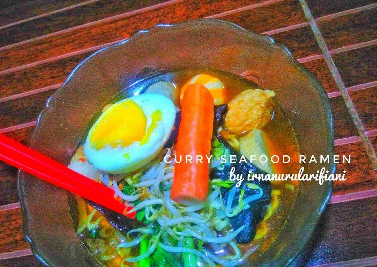 Curry Seafood Ramen