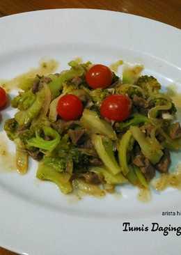 Tumis Daging Sapi Brokoli