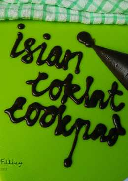 Isian Coklat (Melted Choco Filling)