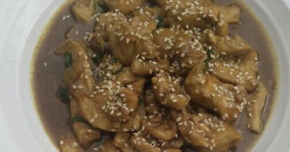 158 resep ayam teriyaki ala hokben enak dan sederhana