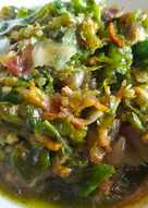 Sambal bawang teri (rawit ijo)