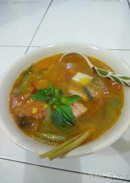 Salmon Kuah Asam