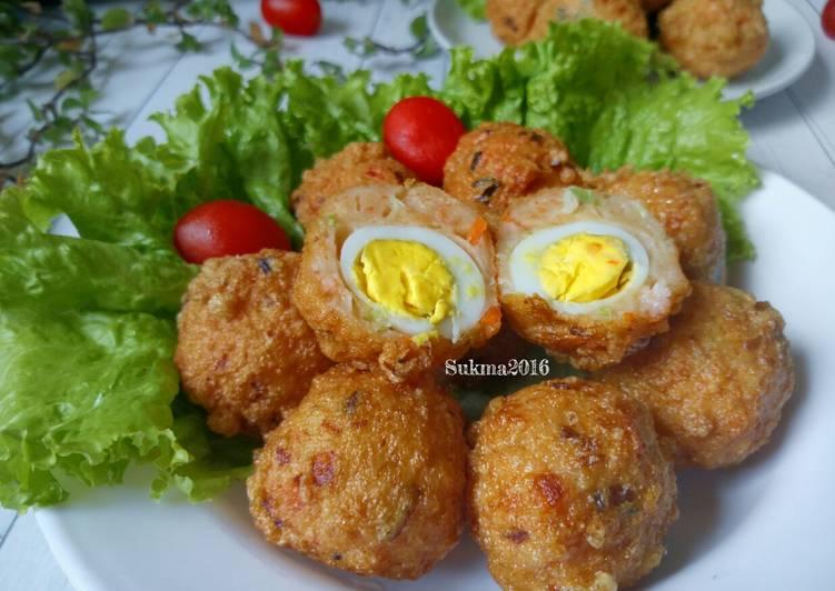 Cara Membuat Tahu Bulat telur puyuh