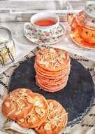 Crispy Almond Cheese Cookies