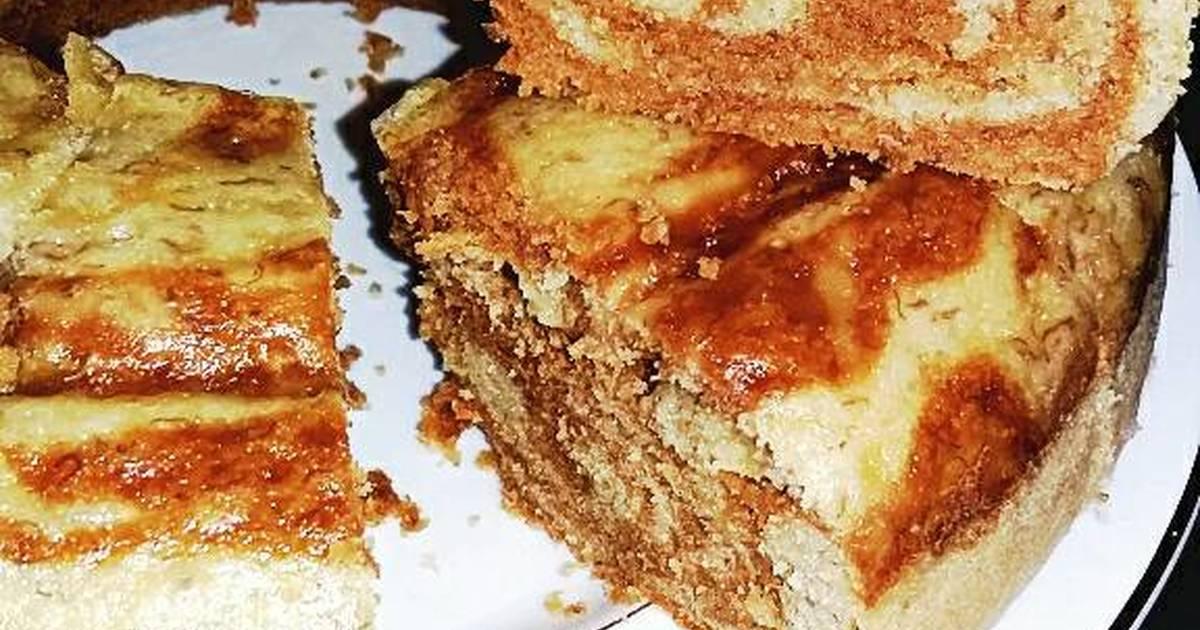 Resep Cake Kukus Kentang: Resep Cake Kukus Pisang Zebra Oleh N I S Y A H 🍒