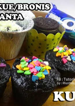 Cake/Kue/Bronies Oreo Fanta Kukus Mudah Enak Cuma 2 Bahan Saja