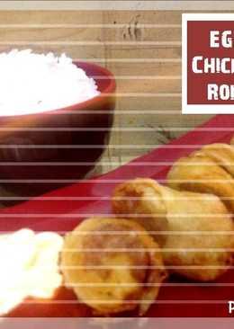 Egg chicken Roll ala bento (Frozen food)