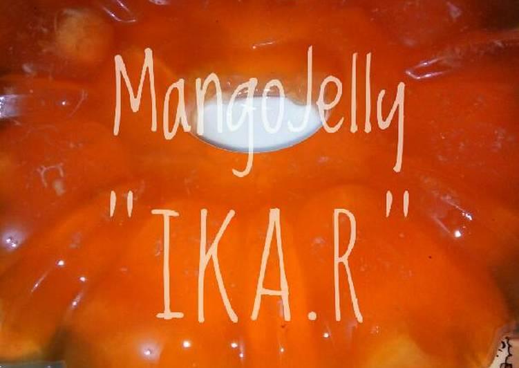 Resep Mango jelly yang dishare oleh Ika Rusdiyanti bisa disajikan  Resep Mango jelly By Ika Rusdiyanti