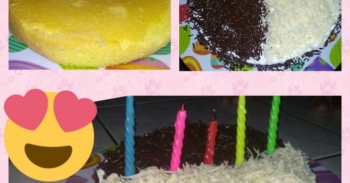 Resep Sponge Cake alias Bolu Jadul