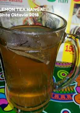 Day18.Lemon Tea Hangat#kamisMANIS