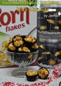 Cornflakes Madu dengan Almond