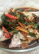 Tim ikan kerapu (menu diet)
