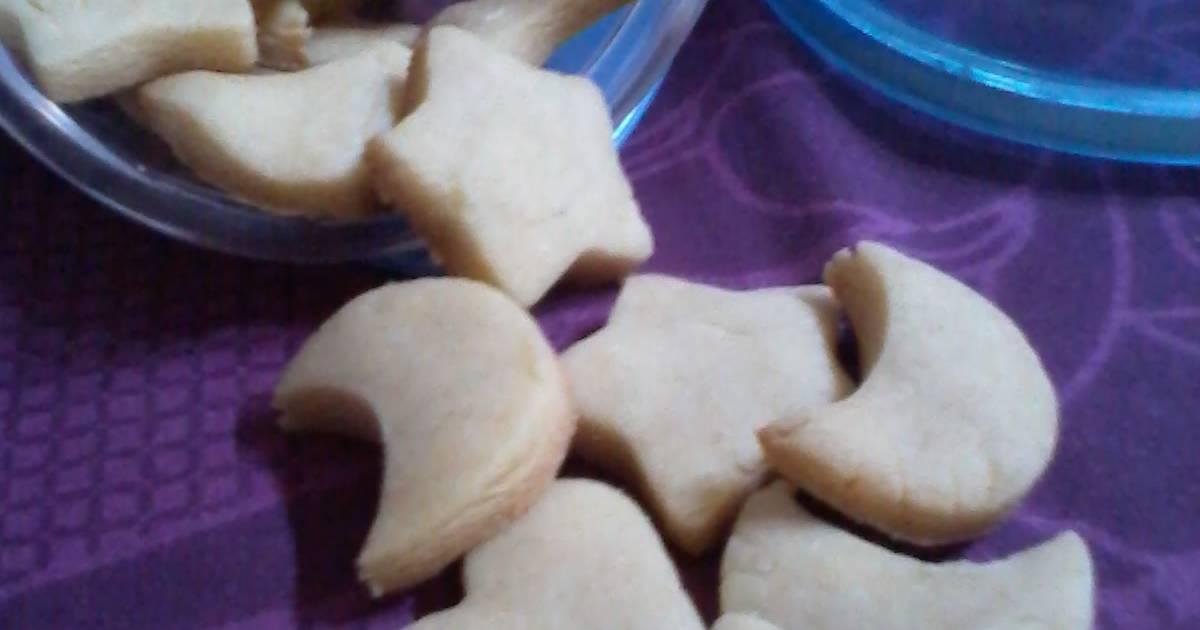 Resep Basic cookies(tanpa telur)