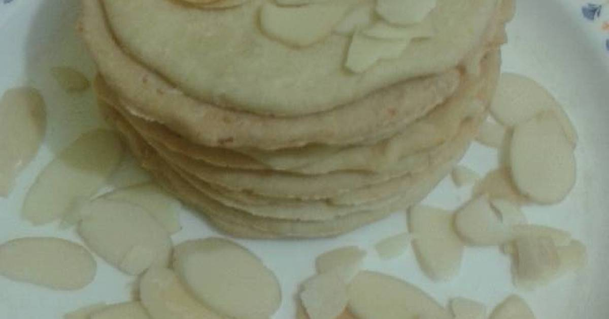 Resep almond chesse cookies