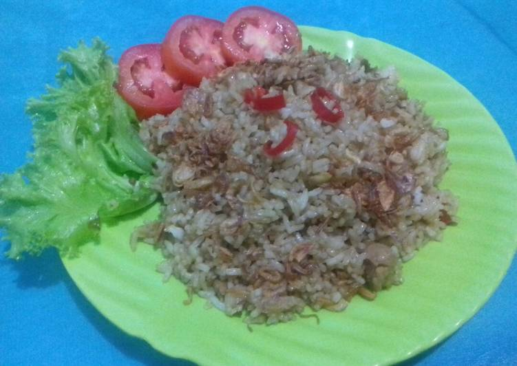 Nasi goreng ayam kecap #Rabubaru