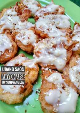 Udang saos mayonaise ala chinese resto