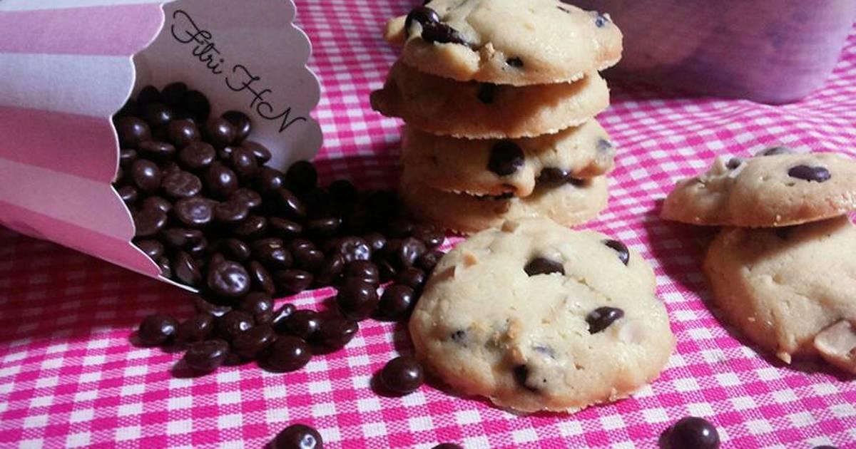 Resep Vanilla Chocochips Cookies