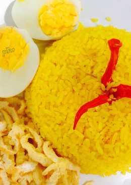 Nasi Kuning Magicom Praktis untuk Pemula
