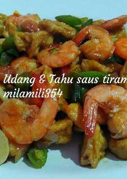 Udang & Tahu saus tiram