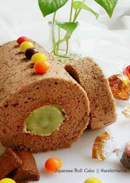 3-Ingredient Japanese Roll Cake