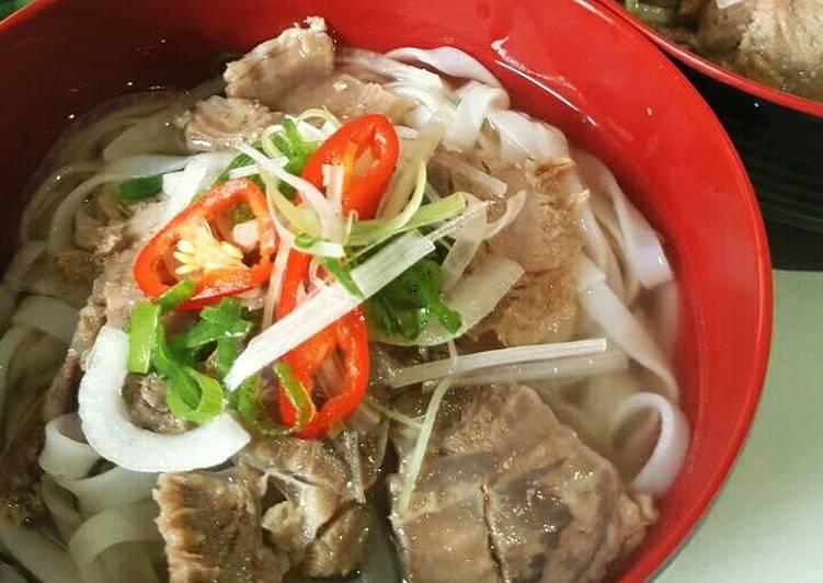 Pho Bo Vietnam Vietnam Beef Noodle Soup