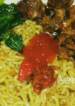 Mie ayam simple and tasty