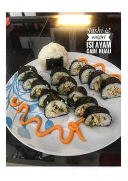 Sushi & onigiri ala rumahan