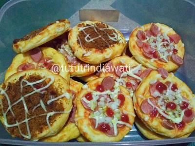 Pizza Mini Empuk Banget (no timbangan)