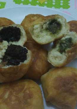 2 resep roti goreng coklat greentea enak dan sederhana