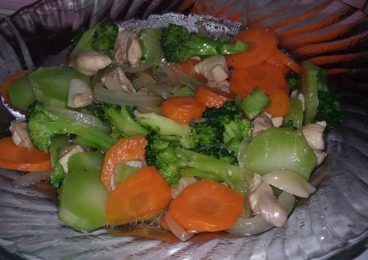 Ca Brokoli Ayam / Brokoli #BikinRamadhanBerkesan