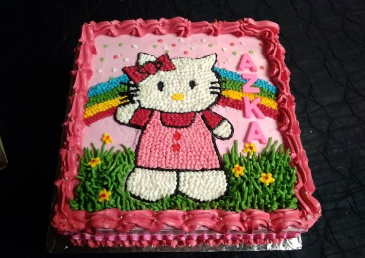 Resep Tart Karakter Hello Kitty Cantik Oleh Herlyna Cookpad