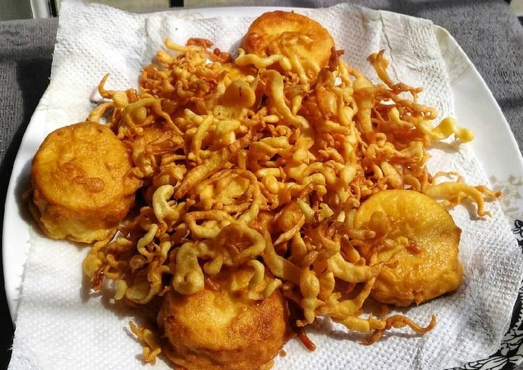 Pisang goreng keribo #rabubaru