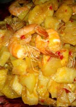 Sambel goreng rambak kentang simple