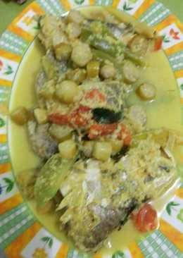 Ikan cukil bumbu kuning