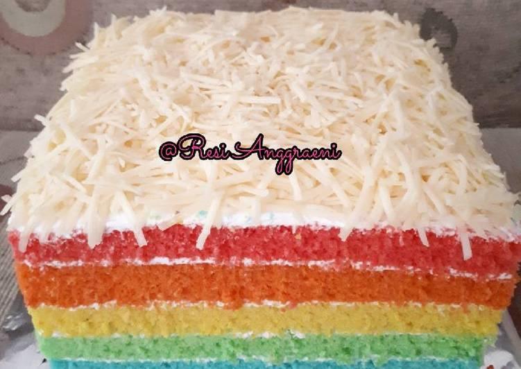 Resep Rainbow Cake Ny Liem Kiriman Dari Resi Anggraeni 49 000 Resep Masakan Rumah Sederhana Yang Mudah Clonesakuraylh