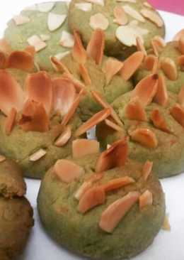 Cookies Matcha Almond surprise Mama