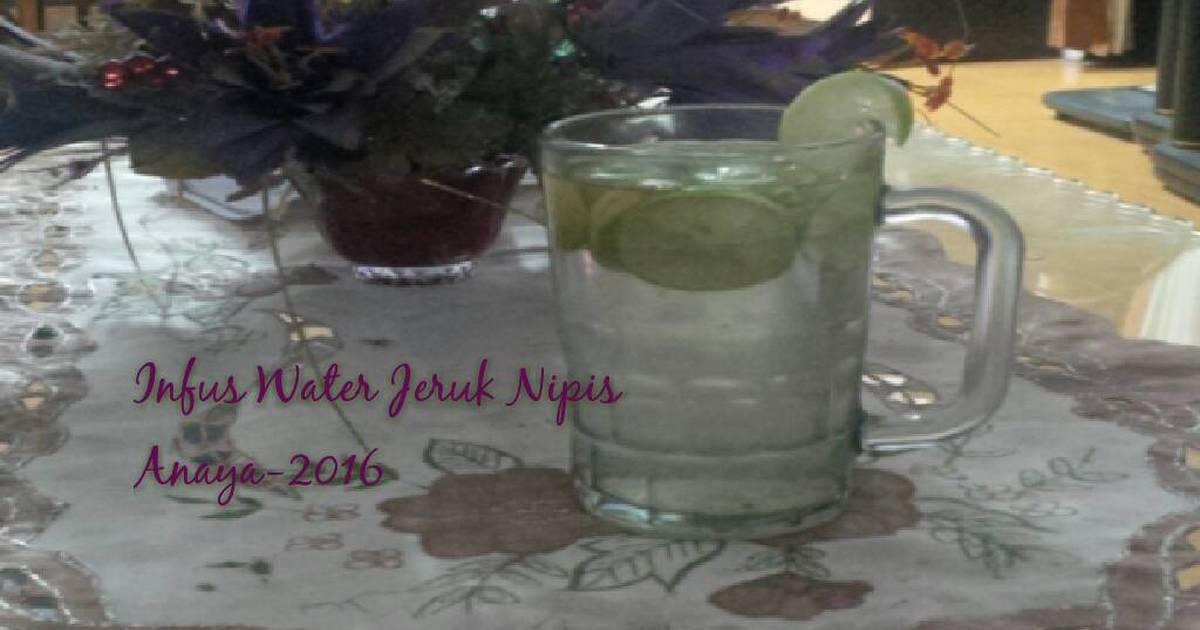 Resep Infus Water- Jeruk Nipis