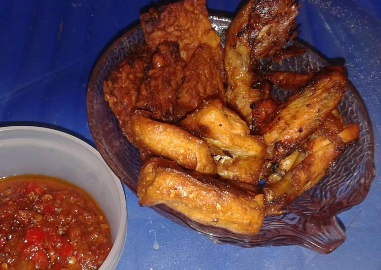 Bacem Tahu Tempe Ayam