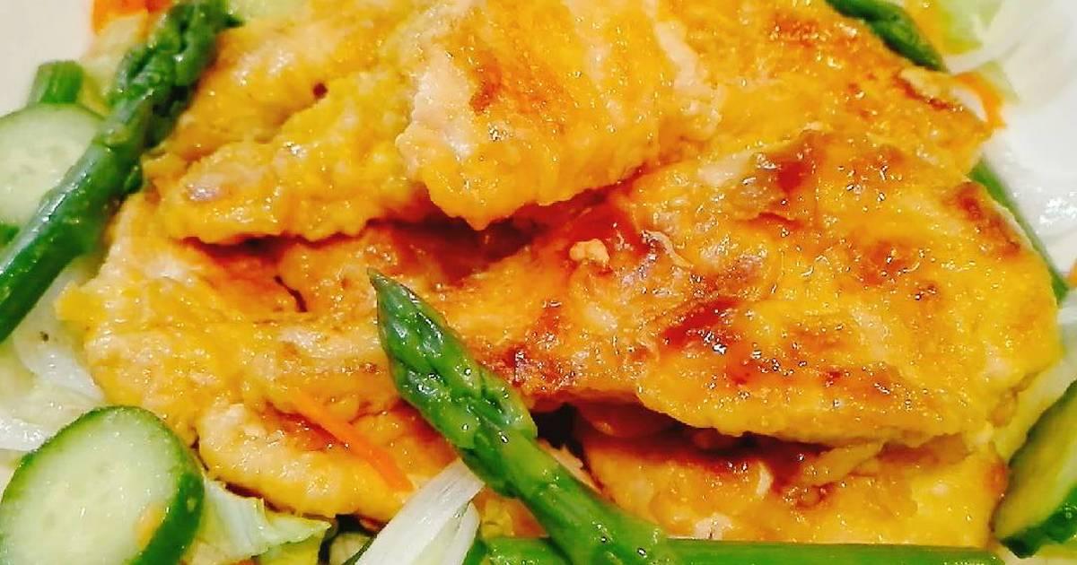 resep simple chicken katsu saus asam manis oleh akari papa