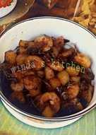 Tumis kentung (kentang udang😁)