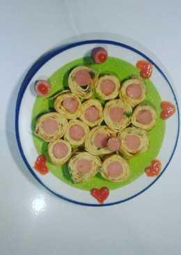 simple tamagoyaki (telur gulung) ~